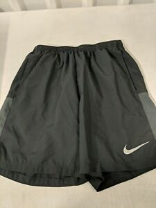 Pre Owned Nike Dry Fit Shorts Medium Black With Inner Lining Good Condition $21.00