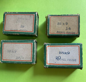 *NOS* VINTAGE 88X9 SINGER NEEDLES 14 20 TWO SIZE 19 very few missing FREE SH $189.99