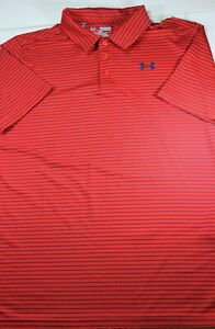 Mens New Under Armour GOLF POLO SHIRT Small 19 x 27.5 S $16.99