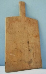 Antique Wooden Cutting Plate Board Bread $35.00