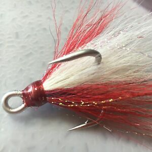 Owner Stinger Treble Hook ST 66TN 4X Strong Size 1 0 Saltwater Spoon Fishing Red