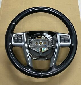 11 2011 CHRYSLER TOWN COUNTRY LIMITED HEATED STEERING WHEEL ASSEMBLY BLACK $42.49