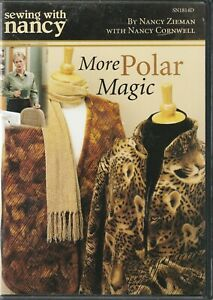 Sewing with Nancy More POLAR MAGIC Sewing High Loft Fleece Instruction DVD $8.75