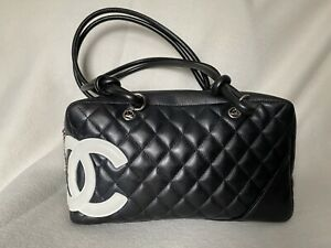 Authentic Chanel Cambon bowler bag $1595.00