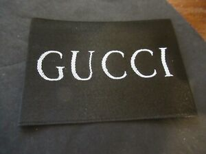 GUCCI 1 Clothing Designer Tag LABEL Replacement Sewing Accessories lot 1 $17.99