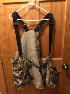 Hunter#x27;s Specialties Hunting Vest Camouflage Adjustable Straps Pockets One Size