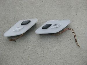 SET 92 99 Mercedes Rear Left Right Dome Map Reading Light Lamp S500 400SEL S320 $49.99