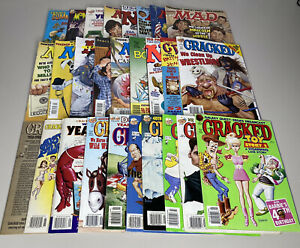 MAD CRACKED MAGAZINE LOT of 25 With SPECIAL ISSUES Collection 1990s