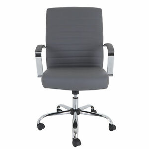 Grand And Eight Drake Bonded Leather Executive Chair GE 12095 02C