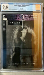 Death: The High Cost of Living #3 Error Edition See error photos CGC 9.6 $59.00