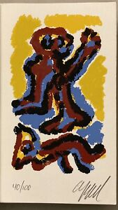 Karel Appel Original Color Lithograph Signed and numbered 40 100 Dupe of Being $475.00