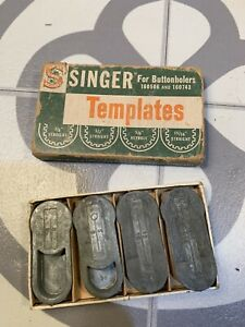 Singer for Buttonholders 160506 and 160743 Templates $12.75
