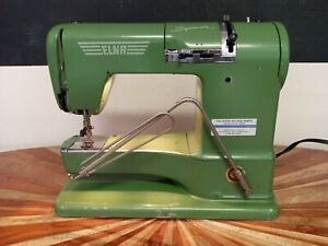 Elna Supermatic Portable Sewing Machine Type 722010 With Case $99.00
