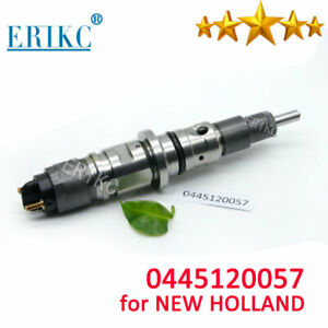 Diesel Parts Fuel Injector 0445 120 057 for BOSCH CASE IVECO NEW HOLLAND 2854608 $99.99