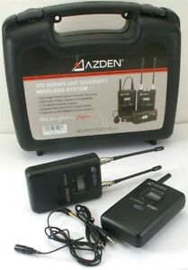 Azden 310 Series UHF Diversity Wireless System Includes 35BT and 310UDR $249.00