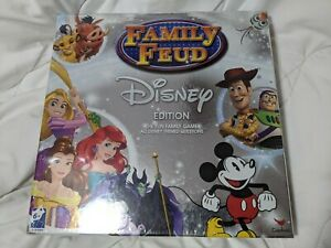 Family Fued Disney Edition Game Sealed Brand New Sealed $11.99