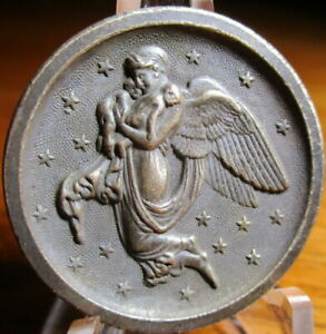 Antique from France IN BIG BOOK OF BUTTONS quot;NIGHTquot; Read Story Angel Babies Stars $84.00