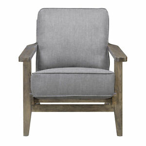 Picket House Furnishings Accent Chair in Slate with Antique Legs UMR542100AW $540.39