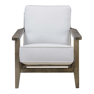 Picket House Furnishings Accent Chair in Taupe with Antique Legs UMR540100AW $548.83