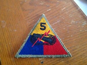 WW2 5th Armored Division patch $4.99