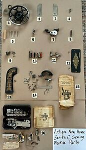 ANTIQUE NEW HOME SERIES C SEWING MACHINE PARTS $19.99