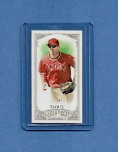 2012 Topps Allen Ginter Mini A G Back Mike Trout Angels CLEAN $26.00