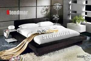 NEW MODERN EURO DESIGN PLATFORM BED SB021