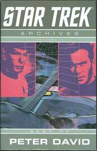 Star Trek Archives Vol 1 Best of Peter David TPB IDW SC