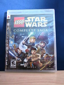 Playstation 3 PS3 Lego Star Wars The Complete Saga