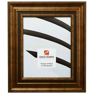 Craig Frames Appennine Classic Aged Gold and Bronze Picture Frame