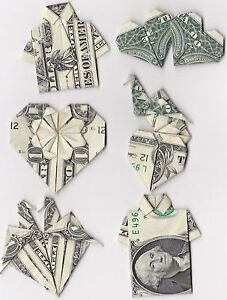 Money Origami made from a Dollar Bill LOVELY GIFT for your LOVERS