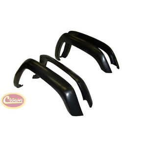 1997 2001 Jeep Cherokee XJ Replacement Fender Flare Flares 4 Piece Set $178.99