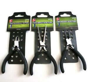Gift Pack 3 Sets Diagonal Cutting + Round Nose + Long Needle Nose Pliers Cutter