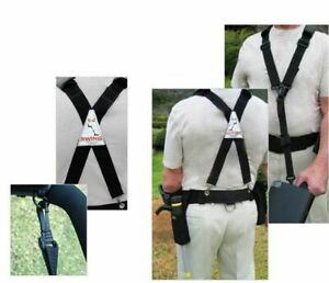 Treasure Products E Z Swing Metal Detector Harness Fully Adjustable with Pouch $79.90