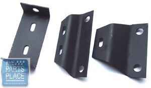 1966 67 Chevelle Manual Transmission Console Mounting Bracket Set 3 Pieces $34.00