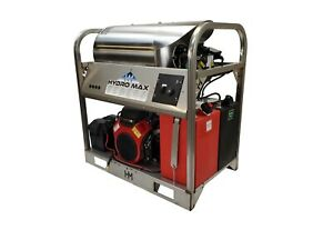 HotCold Water Pressure Washer 6gpm4000psi-new-SS Frame