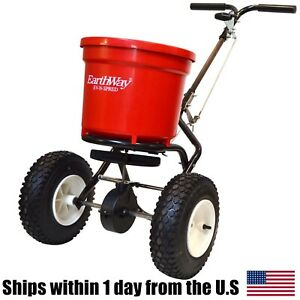 Earthway 2150 Commercial Broadcast Spreader – 50lb Round Hopper