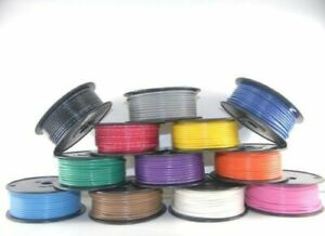 14 AWG Gauge Primary Wire Car Boat Marine Grade Tinned Copper Made in the USA