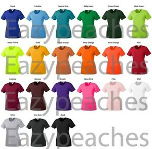 PEACHES NEW Ladies dri fit Gym Yoga Workout Dance Running Sport Womens T SHIRTS $7.95