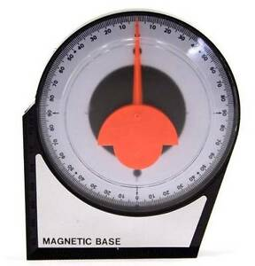 Magnetic Angle Finder Tool for Setting Pinion Angle Reads from 0 to 90 Angles $9.95