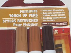 Furniture Touch Up Markers - Fix HIDE Scratches, Carpenters Home Movers Handyman