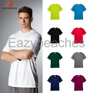New Balance Mens S-3XL Short Sleeve CROSSFIT T-shirt dri-fit Workout Tees N7118