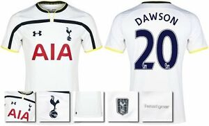 *14  15 - UNDER ARMOUR ; TOTTENHAM HOME SHIRT SS  DAWSON 20 = KIDS SIZE*