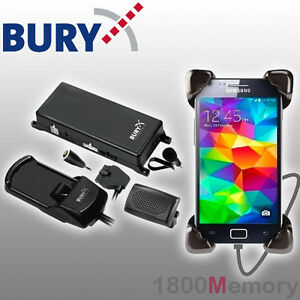 Bury S8 System 8 Bluetooth Hands-Free Car Cradle Kit for Samsung Galaxy S5 S6 S7