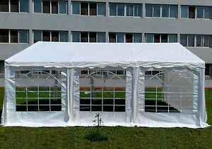 Canopy 20 x 20 Heavy Duty Commercial Fair Car Shelter Wedding Camping Tent