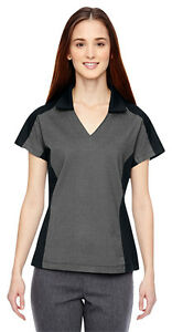 North End Sport Women's New Performance Short Sleeve Polo Shirt Tee Top. 78692