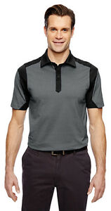 North End Sport Men's New Short Sleeve Performance Polo Shirt Tee Top. 88692