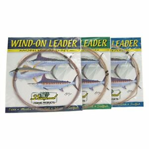 Momoi Wind on Leaders Mono 25 Ft Pick Your Line Class Free Shipping