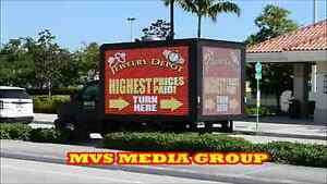 USED MOBILE DIGITAL P8 LED BILLBOARD ADVERTISING TRUCK