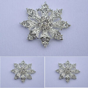 10 x 36mmGRADE A CRYSTAL RHINESTONE FLAT BACK EMBELLISHMENT/WEDDING/ FROZEN/CAKE